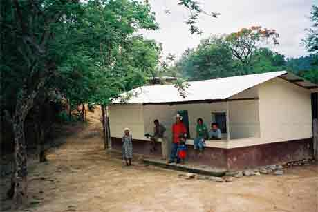 farmer's house in Honduras